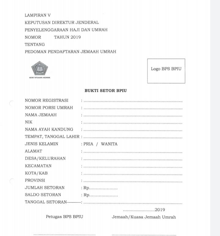 Panduan Daftar Umroh Haji Pengembalian Dana Fajar Berkah Ilahi Fbi