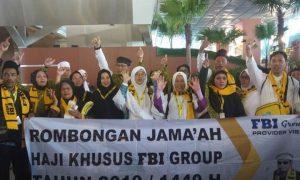 Haji khusus plus fbi langsung berangkat