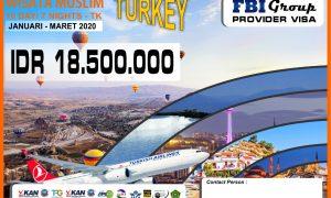 Paket Wisata Muslim Turki FBI